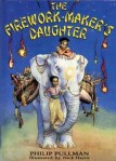 1st edition cover | source http://en.wikipedia.org/wiki/File:FireworkMakersDaughter.jpg
