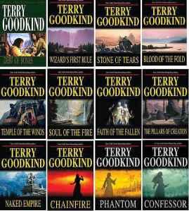12 buku dalam seri Sword of Truth