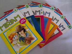 Jual Komik Bekas Miriam 1-6 Full cover mulus Bekas Koleksi.
